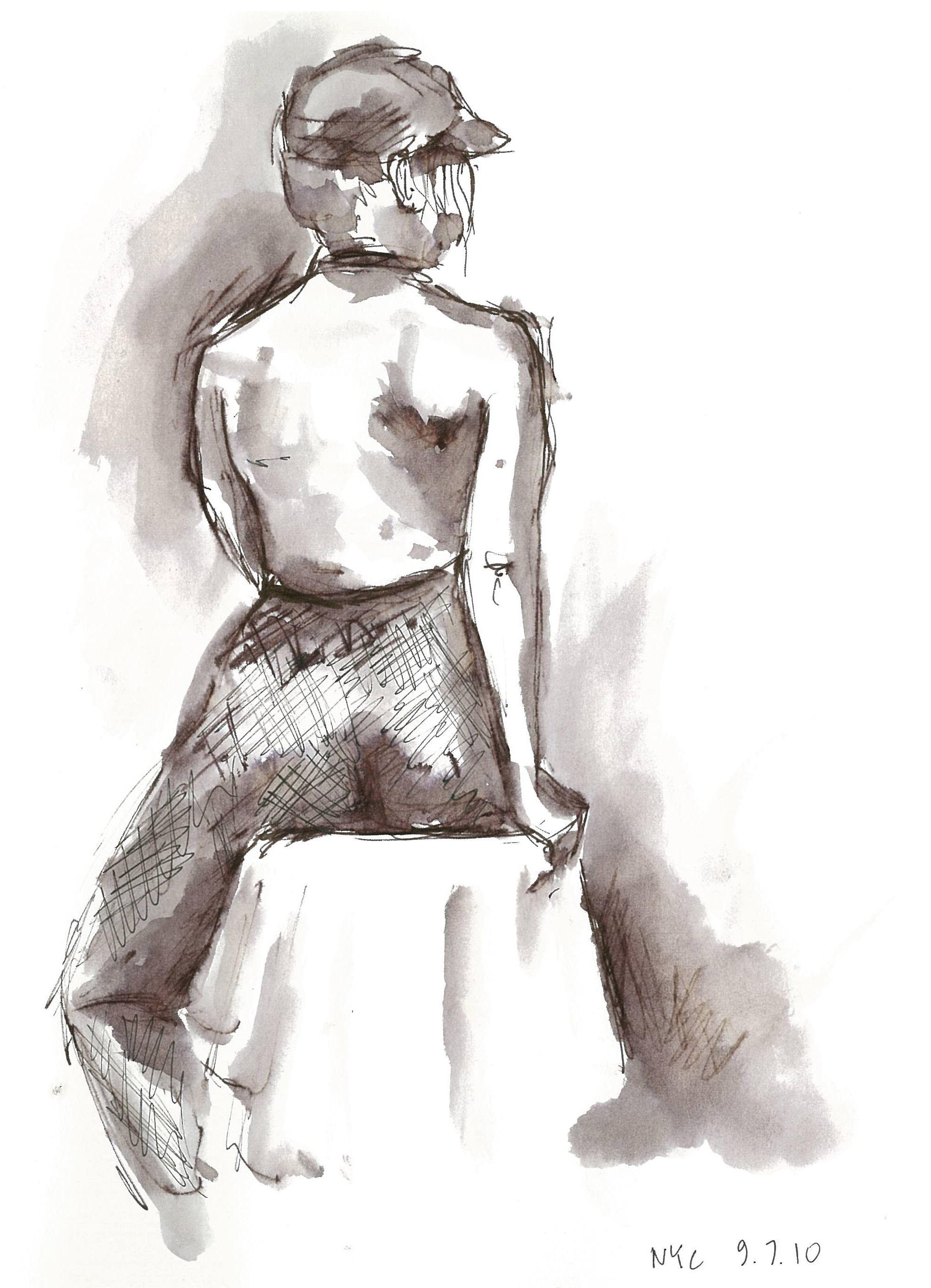 Life Drawing at New York Illustrators Assoc.
